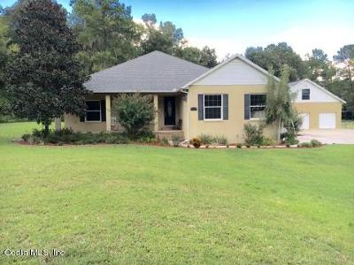 Belleview Single Family Home For Sale: 4735 SE 112th Street Road