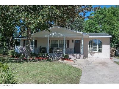 Ocala Single Family Home For Sale: 512 SE 32nd Avenue
