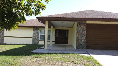 Dunnellon Single Family Home For Sale: 21406 SW Plantation