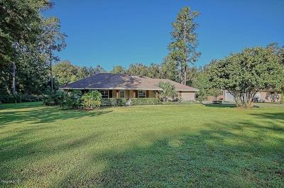 Ocala Single Family Home For Sale: 8526 SE 12th Court