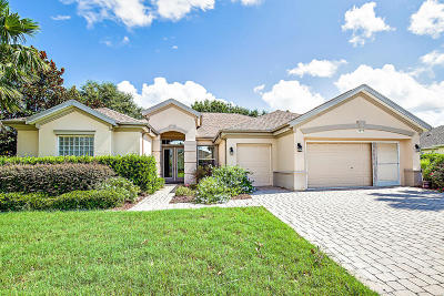 Spruce Creek Gc Single Family Home Pending: 12715 SE 91 Terrace Road