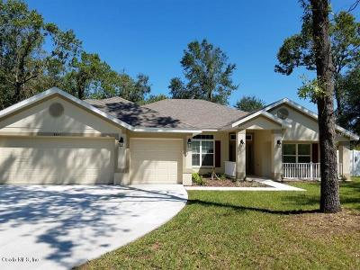 Summerfield Single Family Home For Sale: 8345 161st Street