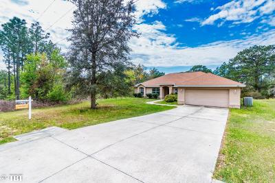 Dunnellon Single Family Home For Sale: 5920 SW 209th Avenue