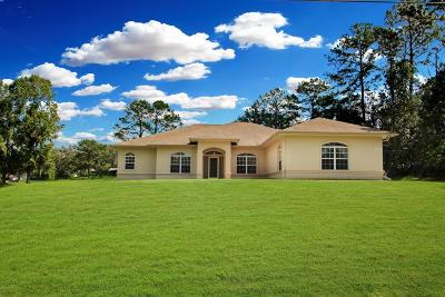 Ocala Single Family Home For Sale: 5065 NW 82nd Court