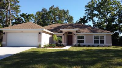 Belleview Single Family Home For Sale: 4098 SE 97th Lane