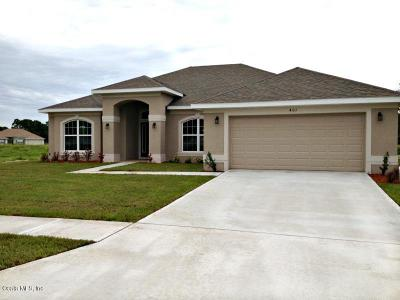 Belleview Single Family Home For Sale: 3852 SE 98th Place