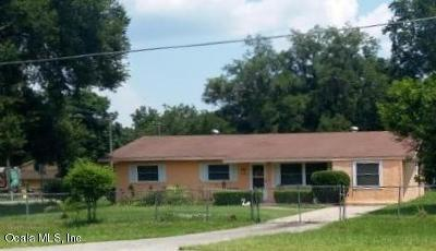 Belleview Single Family Home Pending: 7228 SE Hwy 25 A