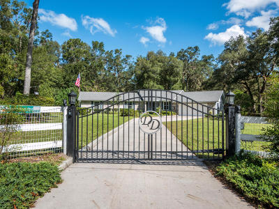 Ocala Single Family Home For Sale: 3 Wagon Wheel Way