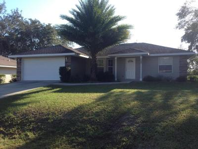 Belleview Single Family Home For Sale: 13395 SE 102nd Court