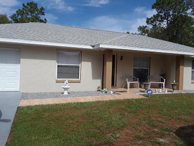 Ocala Single Family Home For Sale: 9 Spring Run