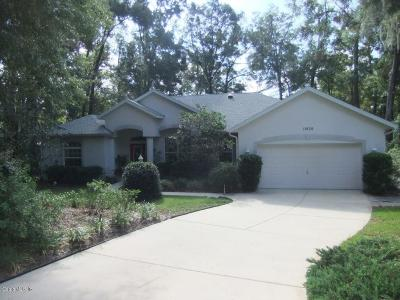 Dunnellon Single Family Home For Sale: 19130 SW 101st Place Road