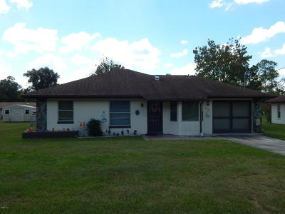 Dunnellon Single Family Home For Sale: 21144 SW Plantation St