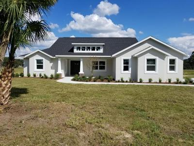 Ocala Single Family Home For Sale: 1786 NW 83 Loop