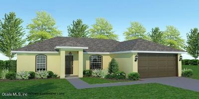 Ocala Single Family Home For Sale: 36 Walnut Course
