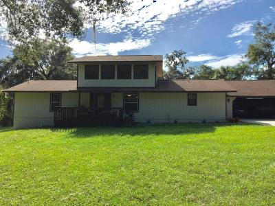 Belleview Single Family Home For Sale: 10894 SE 108th Terrace Road