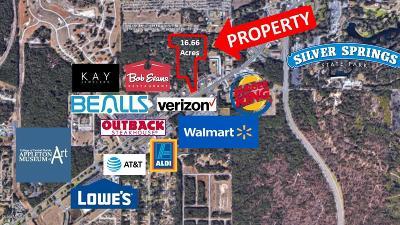 Ocala Residential Lots & Land For Sale: E E Silver Springs Blvd