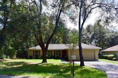 Dunnellon Single Family Home For Sale: 11120 SW 107th Place