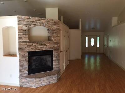 Marion County Single Family Home For Sale: 21370 SW 10th Street