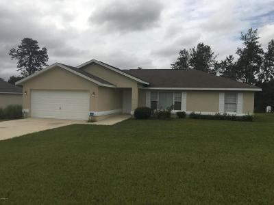 Ocala Single Family Home For Sale: 13412 SW 29 Circle