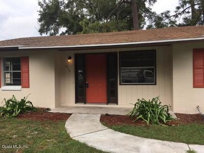 Ocala FL Single Family Home For Sale: $125,000