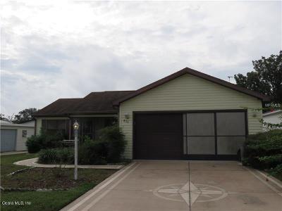 Lady Lake Single Family Home For Sale: 824 Bolivar Street