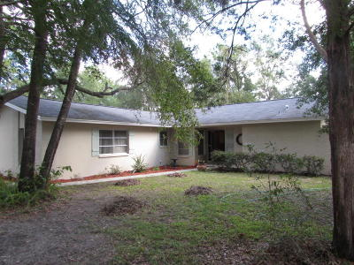 Dunnellon Single Family Home For Sale: 8851 SW 204 Court