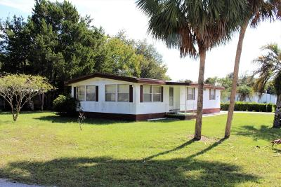 Ocala Single Family Home For Sale: 5850 SW 63rd Place Road
