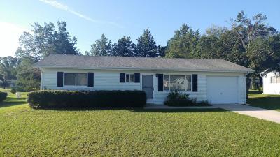 Ocala Single Family Home For Sale: 8244 SW 106th Street