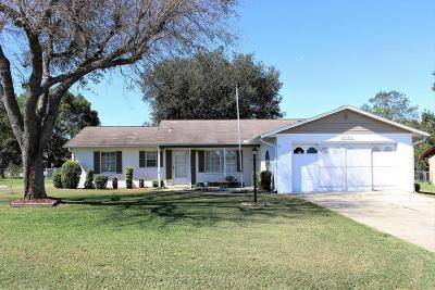 Belleview Single Family Home For Sale: 10862 SE 74th Court