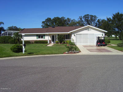 Lake County, Marion County Single Family Home For Sale: 17980 SE 100th Terrace