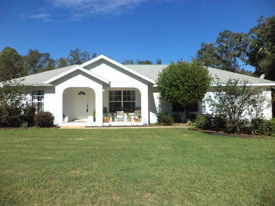 Ocala FL Single Family Home For Sale: $150,000
