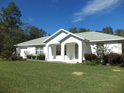 Ocala FL Single Family Home For Sale: $148,500
