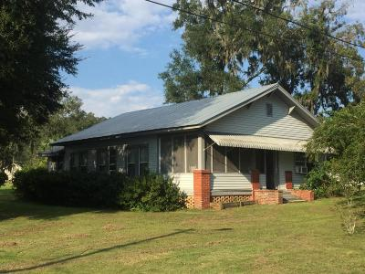 Reddick Single Family Home For Sale: 4191 NW 152nd Street
