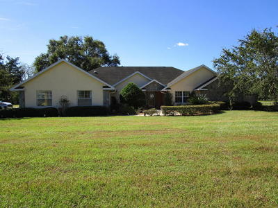 Ocala Single Family Home For Sale: 10400 N Magnolia Avenue