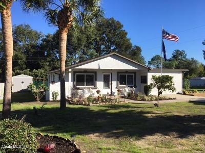 Dunnellon Single Family Home For Sale: 20131 SW 82nd Place