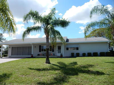 Spruce Creek So Single Family Home For Sale: 17668 SE 106th Terrace