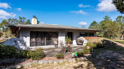 Dunnellon Single Family Home For Sale: 10850 N Farmwood Avenue