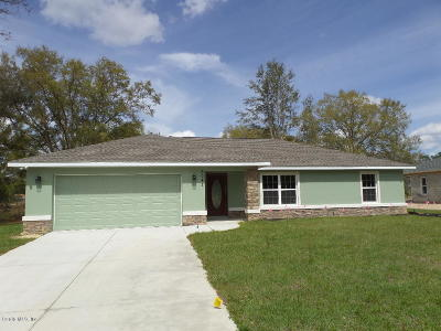 Ocala Single Family Home For Sale: 6041 SW 116th Street Road