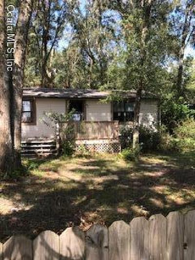 Dunnellon Single Family Home For Sale: 11405 SW 152nd Place