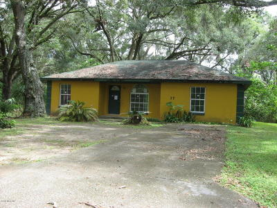Ocala Single Family Home For Sale: 37 SW 26th Avenue