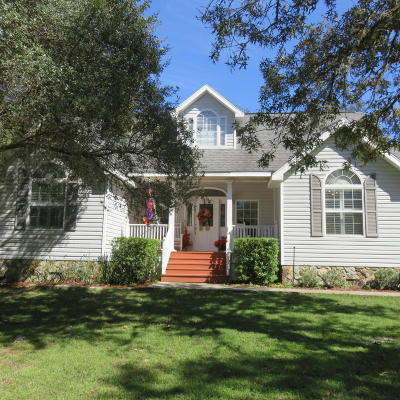 Ocala Single Family Home For Sale: 5801 SW 140 Street