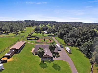Marion County Farm For Sale: 15668 N Hwy 329