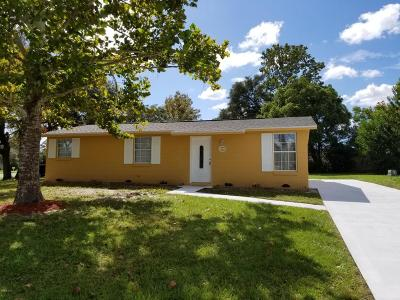 Ocala Single Family Home For Sale: 4008 SW 143rd Lane Road