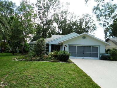 Dunnellon Single Family Home For Sale: 19040 SW 92 Loop
