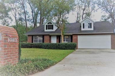 Ocala Single Family Home For Sale: 1083 SE 56th Court