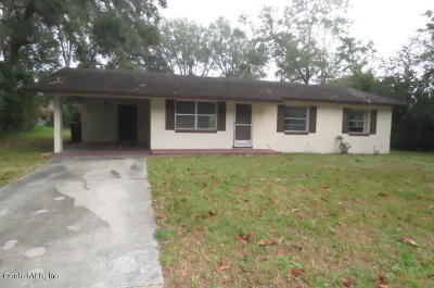 Ocala Single Family Home For Sale: 2801 SW 16th Place