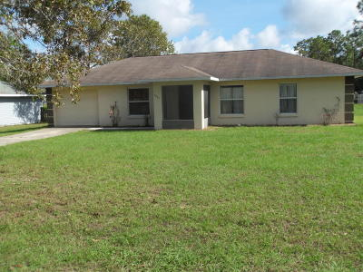 Ocala Single Family Home For Sale: 7233 Hemlock Road