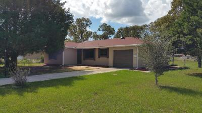 Ocala Single Family Home For Sale: 539 Midway Trak