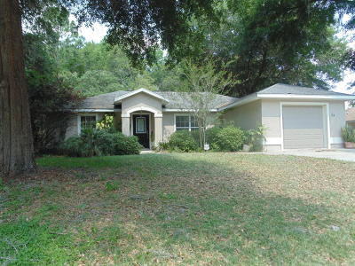 Ocala Single Family Home For Sale: 34 Pine Circle