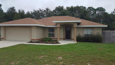 Ocala Single Family Home For Sale: 2459 SW 146 Ct.